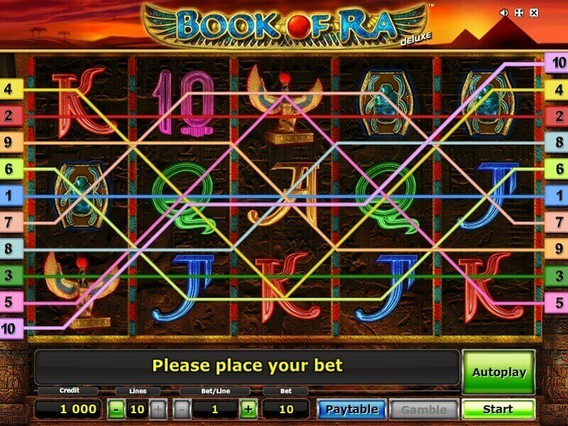 play book of ra deluxe free online