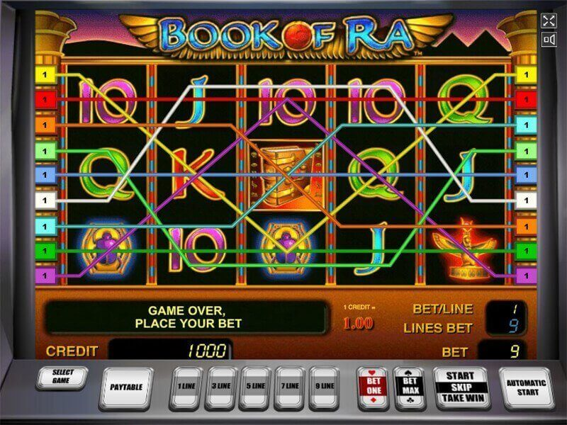 Book Of Ra Online Slots Play Free