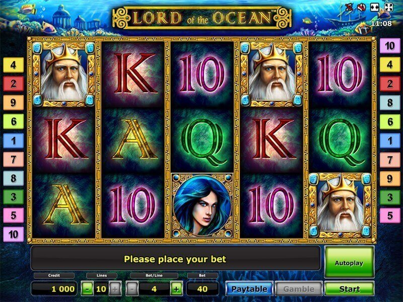 free online slot play lord of ocean
