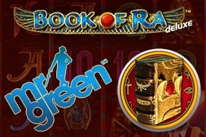 Book of Ra Deluxe at Mr. Green