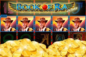 Win Playing Book of Ra Deluxe at Quasar Gaming