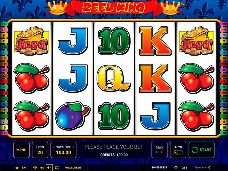 Play Reel King Online