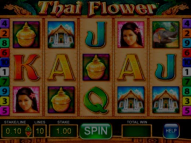 Thai Flower Slot Machine Review